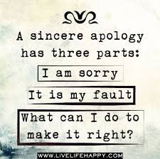 Apologize Quotes Simple Apology Quotes Quotes And Humor
