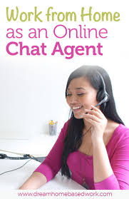 work from home as an online chat agent work from home and make money for assisting clients via email or chat no phone
