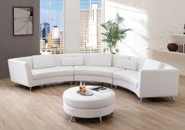 Furniture:Grey Sectional Sofa With Retro Wooden Stools Combine Rounded  Coffee Table Exclusive White Sectional