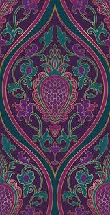 wallpaper pattern purple and green. Interesting Pattern Pattern With Damask Purple And Green Filigree Ornament Elegant Template  For Wallpaper Textile On Wallpaper And Green R