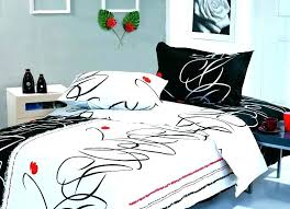 red black and white bedding sets striped bed sheets blue set home improvement extraordinary modern fun de