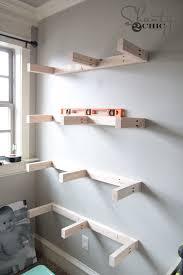diy floating shelves plans and tutorial