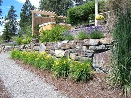 Rock Walls Landscaping Landscaping With Large Rocks Ideas A Rocking