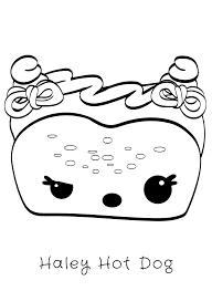 Cute Food Kleurplaten Coloring Page Hamtaro Coloring Pages 50