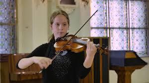 """Arianna Elizabeth Behrendt performs """"Synkopen"""" by Fritz Kreisler ..."""