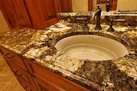 granite bathroom counters. Master Bathroom Granite Countertop Single Vanity 04 Counters