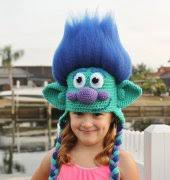Trolls Crochet Hat Pattern Custom Troll Crochet Patterns Free Troll Crochet Craft Patterns 48Crafter