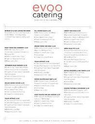 Catering Menu Templates Free Catering Menus Samples Under Fontanacountryinn Com