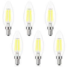 E12 400 Lumen Light Bulb Kohree Candelabra Led Bulbs 4 Watt 400 Lumen 5000k Daylight