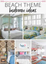 beach themed bedrooms ideas beach