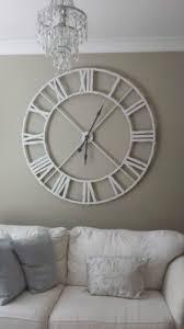 metal roman numeral clock