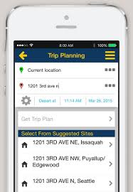 Phone And Address Iphone And Android App Trip Planner King County Metro