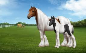 beautiful baby horses wallpaper. Perfect Horses Beautiful Horses  Baby Brown Black Grass Beautiful White Mother And Baby Wallpaper W