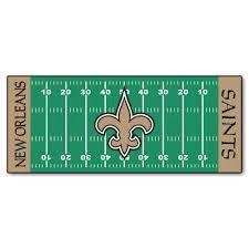 fanmats new orleans saints 3 ft x 6 ft football field rug runner rug