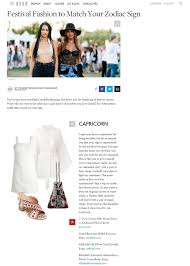 Elle Horoscopes Press Elisabeth Weinstock Exotic Snakeskin Handbags Accessories