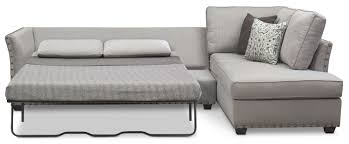 Image Chaise Sectional Click To Change Image Value City Furniture Mckenna 2piece Queen Sleeper Sectional And Chair Value City