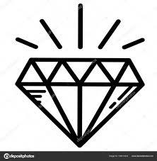 роскошные тату яркий бриллиант векторное изображение Littlemagic