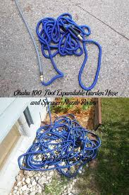 100 foot garden hose. Ohuhu 100-Foot Expandable Garden Hose And Sprayer Nozzle Review 100 Foot U