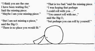 The Missing Piece Shel Silverstein The Missing Piece Meets The Big O By Shel Silverstein