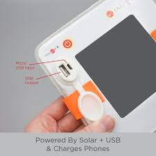 Details About Original Luminaid Packlite 2in1 Phone Charger Light Solar Sun Camp Travel Trip