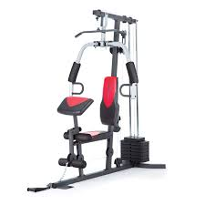 Gold\u0027s Gym XRS 50 Home Gym with High and Low Pulley System ...