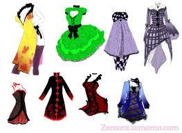Clothing Design Ideas anime girl clothes designs womens designer clothing designer dresses chickdowntowncom