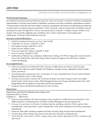 Maintenance Resume Cover Letter Facility Maintenance Manager Cover Letter floor broker cover letter 97