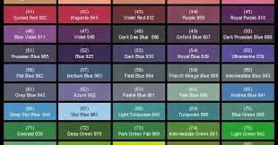 Airfix Model Paint Colour Chart Lokis Great Hall Vallejo Paint Charts Paint Charts