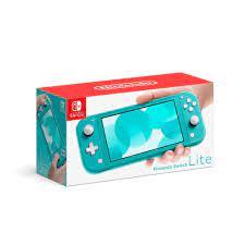 Máy Chơi Game Nintendo Switch Lite Turquoise Mới 100% Fullbox Chính Hãng