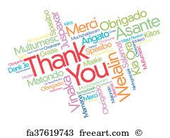 Word Thank You Free Thank You Word Cloud Art Prints And Wall Artwork Freeart