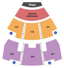 Paradise Cove Seating Chart Paradise Cove At River Spirit Tickets And Paradise Cove At