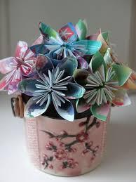 Paper Origami Flower Bouquet Easy Origami Flower Tutorial Hgtv