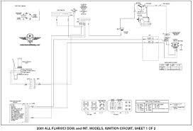 harley davidson wiring diagrams and schematics 2001 flhtc