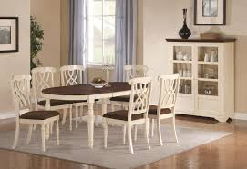 Cherry Wood Kitchen Table Sets Coaster Addison 103181 White Wood Dining Table In Los Angeles Ca