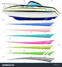 Boat Graphics Designs Ideas Vector Set Boat Graphics Isolated On Stock Vector Royalty