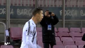 Cristiano Ronaldo y su hijo en el fútbol: