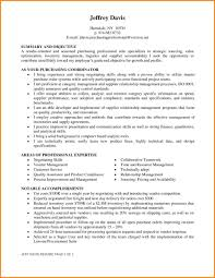 Purchasing Agent Resume Examples Objective Samples Hd Lvvghem