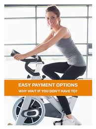 with our flexible finance options we make those bigger fitness equipment purchases more affordable by spreading the