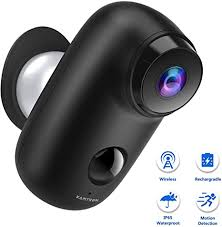 <b>Rechargeable Battery Powered</b> Wireless Security Camera: Amazon ...