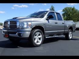 2007 Dodge Ram 1500 SLT Thunder Road Quad Cab For Sale Dayton Troy Piqua Sidney Ohio | CP14651T