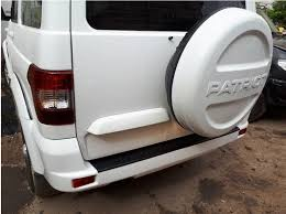 <b>Накладка заднего</b> бампера УАЗ Патриот 2015+ с надписью ...