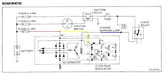alternator wiring diagram internal regulator alternator internally regulated alternator wiring diagram internally auto on alternator wiring diagram internal regulator
