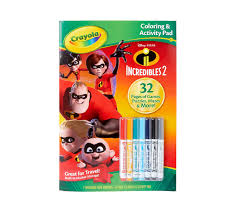 If you click a link and choose to make a purchase from the partnership site, i will earn a commission. The Incredibles 2 Coloring Pages Stickers Activities Crayola Com Crayola