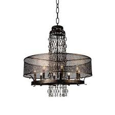 pollett 8 light golden bronze chandelier