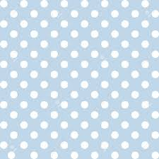 Polka Dot Pattern Magnificent Seamless Pattern Big White Polka Dots Pastel Blue Background