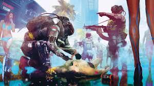 Cyberpunk 2077 7680×4320 Trauma Team E3 ...