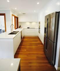 Kitchen Designs Castle Hill All White Kitchen Barfridge Smartstone Carrara