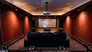 home theater lighting ideas. Theater Room Lighting Ideas Home Theatre Decorating Wall With Red Sensation And Black Sexy