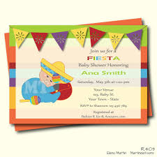 mexican themed baby shower invitations fresh luxury inside remodel 19