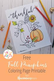 Free Fall Coloring Page Huckleberry Hearts
